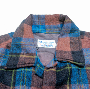 Hand Picked Vintage: Stancross Single Needle Wool Plaid Shirt