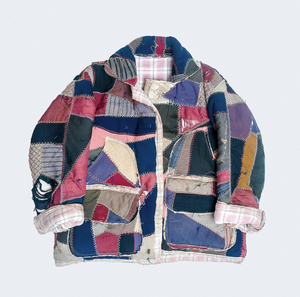 Thank You Have a Good Day Quilt Jacket