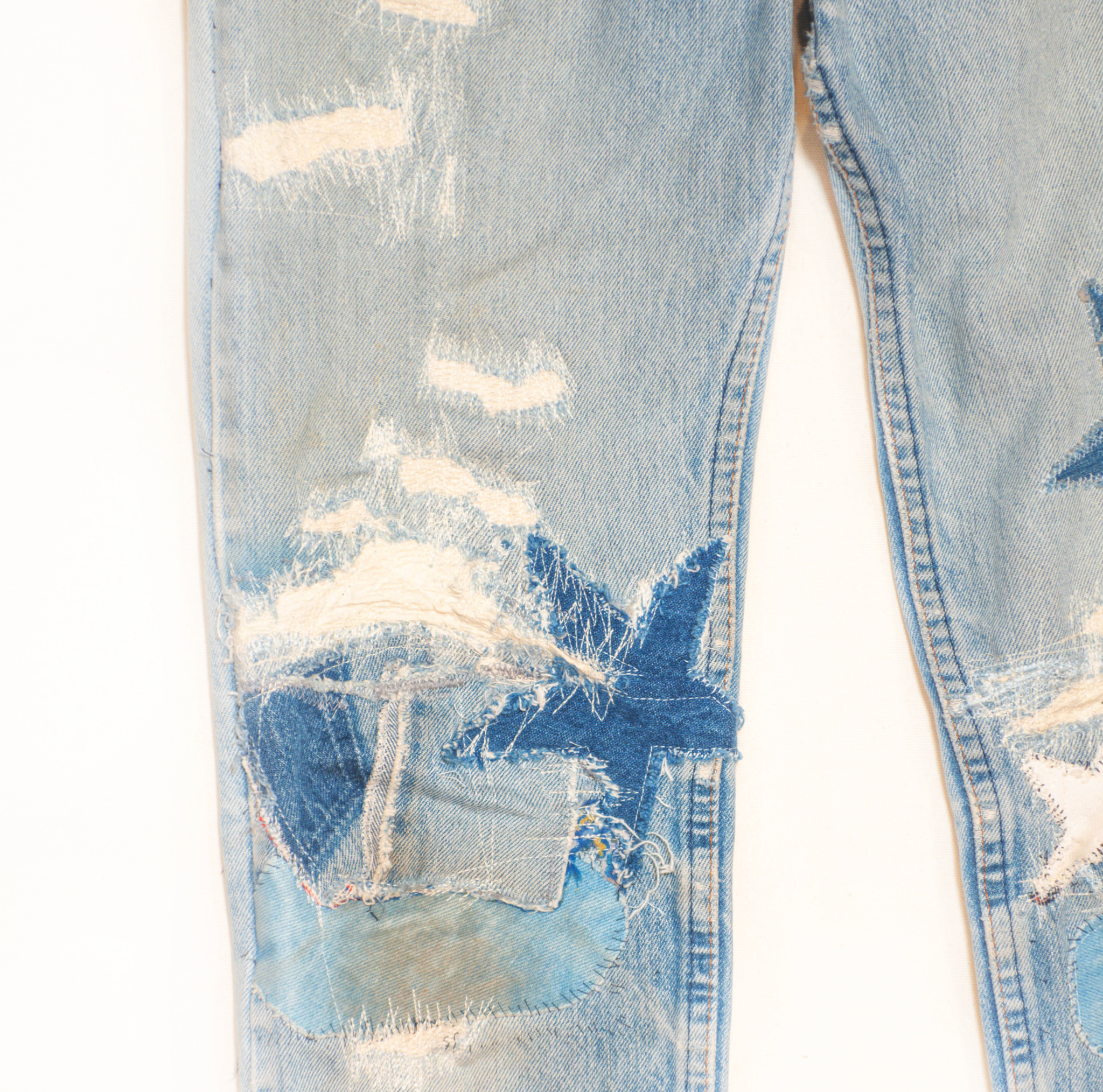 Hand Picked Vintage: Patched Levi's