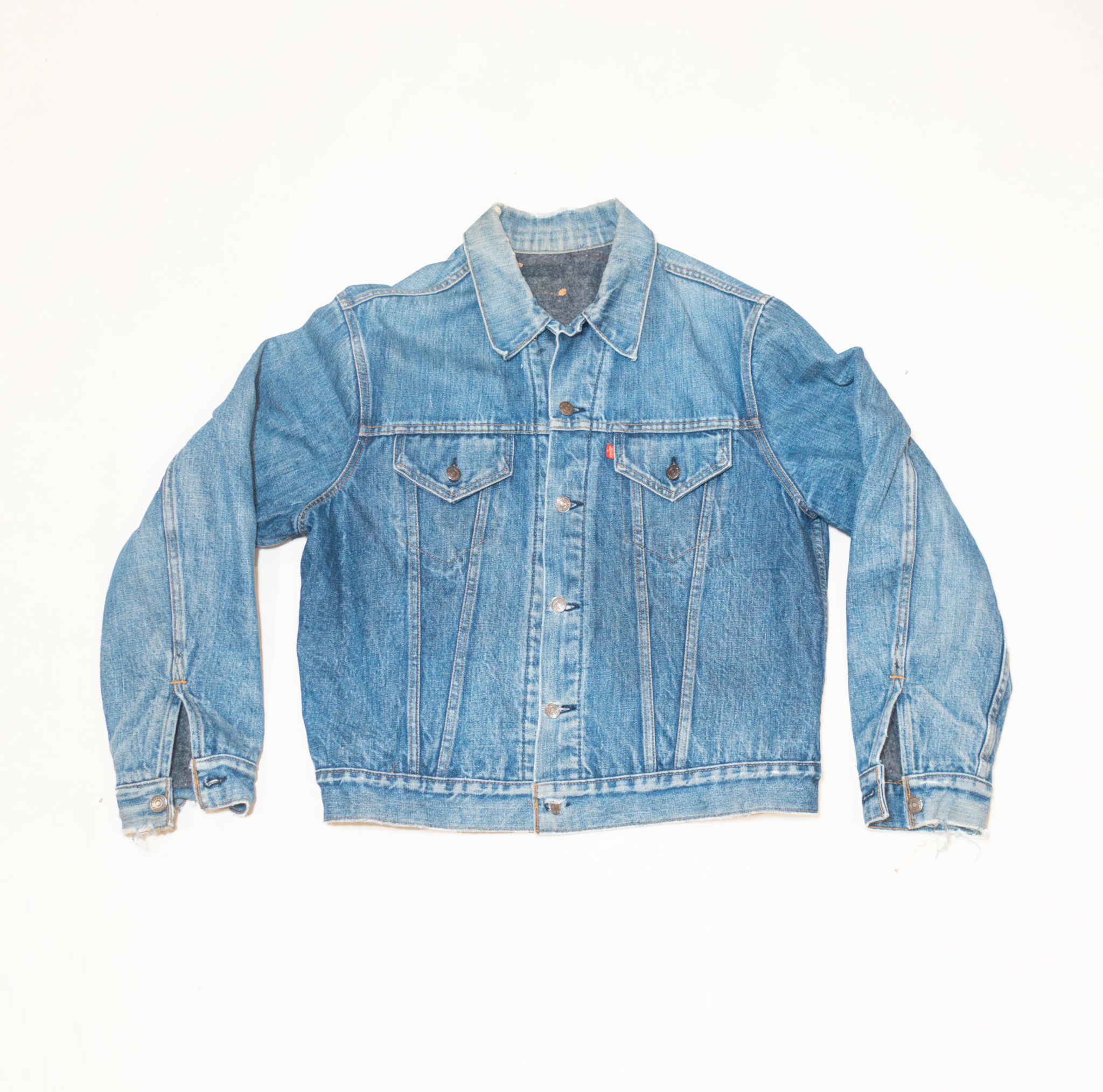 Hand Picked Vintage: Levi's Blanket Lined Denim Jacket