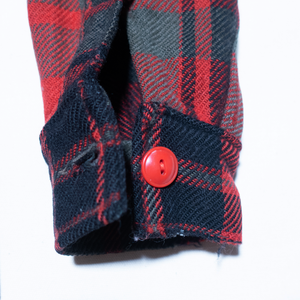 Hand Picked Vintage: Woolrich Wool Plaid Shirt Jacket