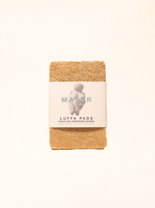 Mater Luffa Pad (three pack)
