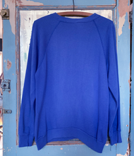 Load image into Gallery viewer, Thank You Vintage Smile Blue Sweatshirt
