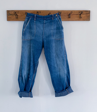 Load image into Gallery viewer, Blue Bell sanforized side zip jeans