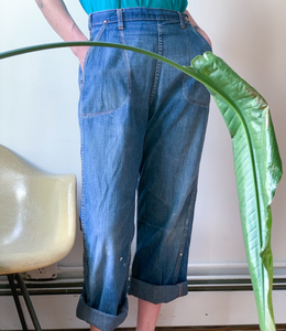 Blue Bell sanforized side zip jeans