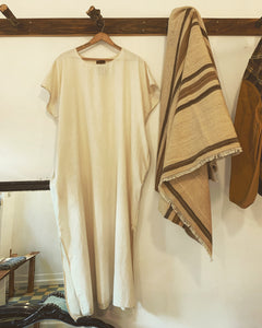 Thank You Have a Good Day organic cotton kaftan