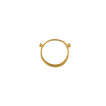 Load image into Gallery viewer, Prounis Laurus Ring with Diamonds