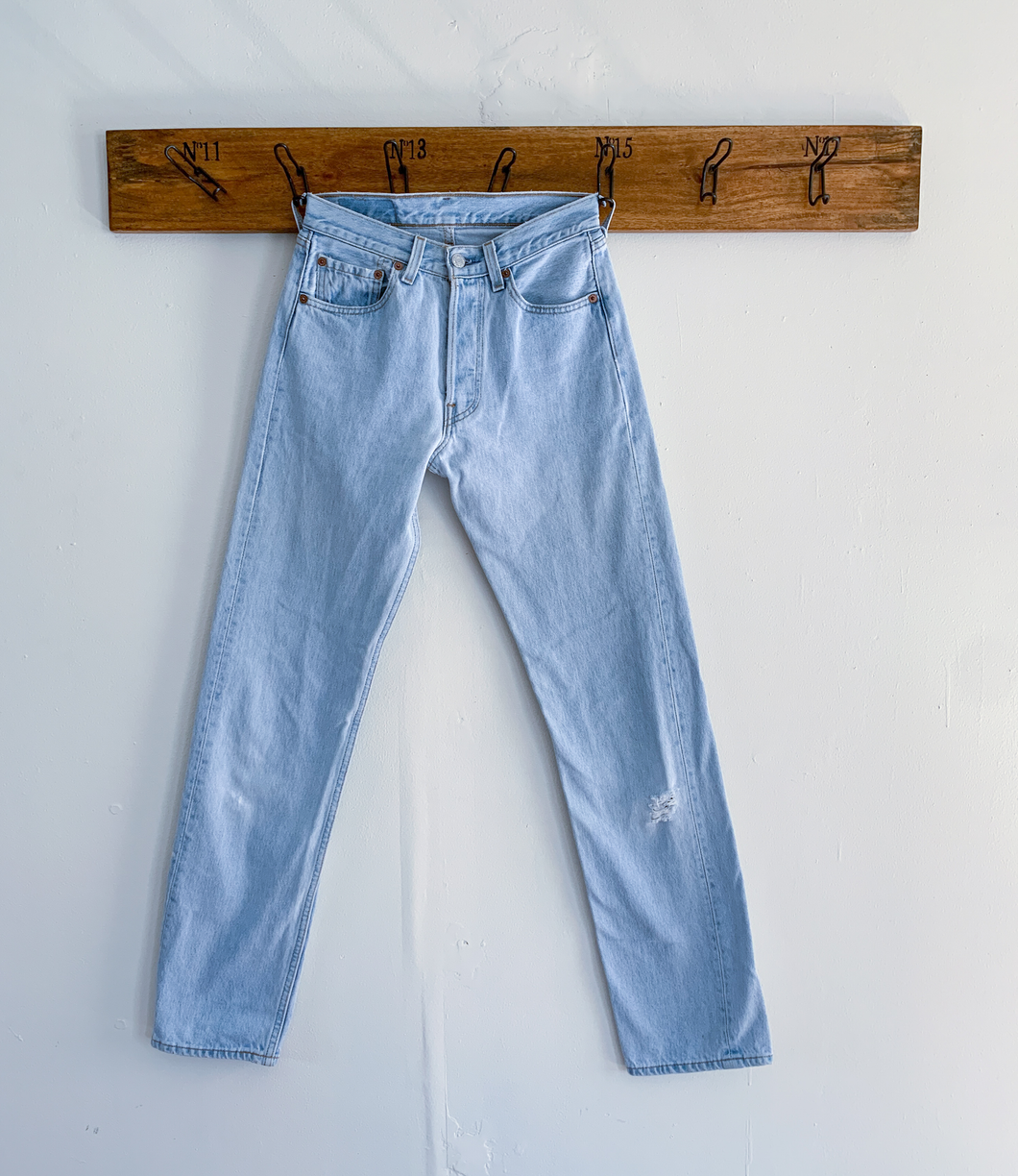 Levi's 501 light wash