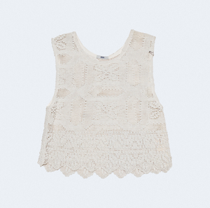 Bode One of a Kind Crochet Tank
