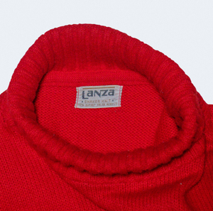 Hand Picked Vintage: Lanza Shaker Knit Fraternity Sweater