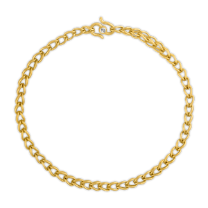 Prounis Solo Loop-in-Loop Chain Bracelet