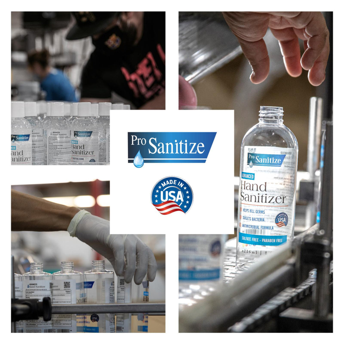 Pro Sanitize Mad in USA