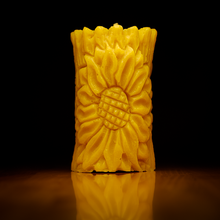 Load image into Gallery viewer, Raw Honey Beeswax Candles UK - HoneyLit.com