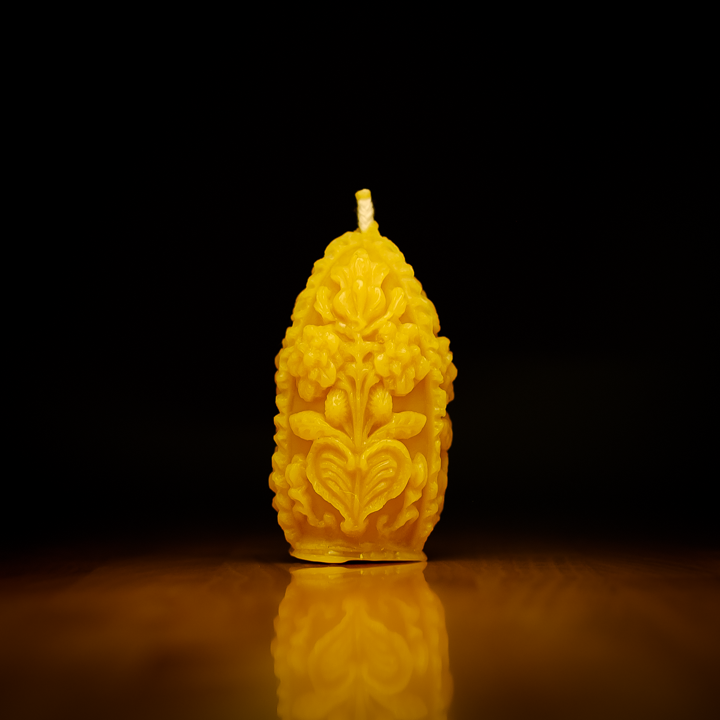 Raw Honey Beeswax Candles UK - HoneyLit.com
