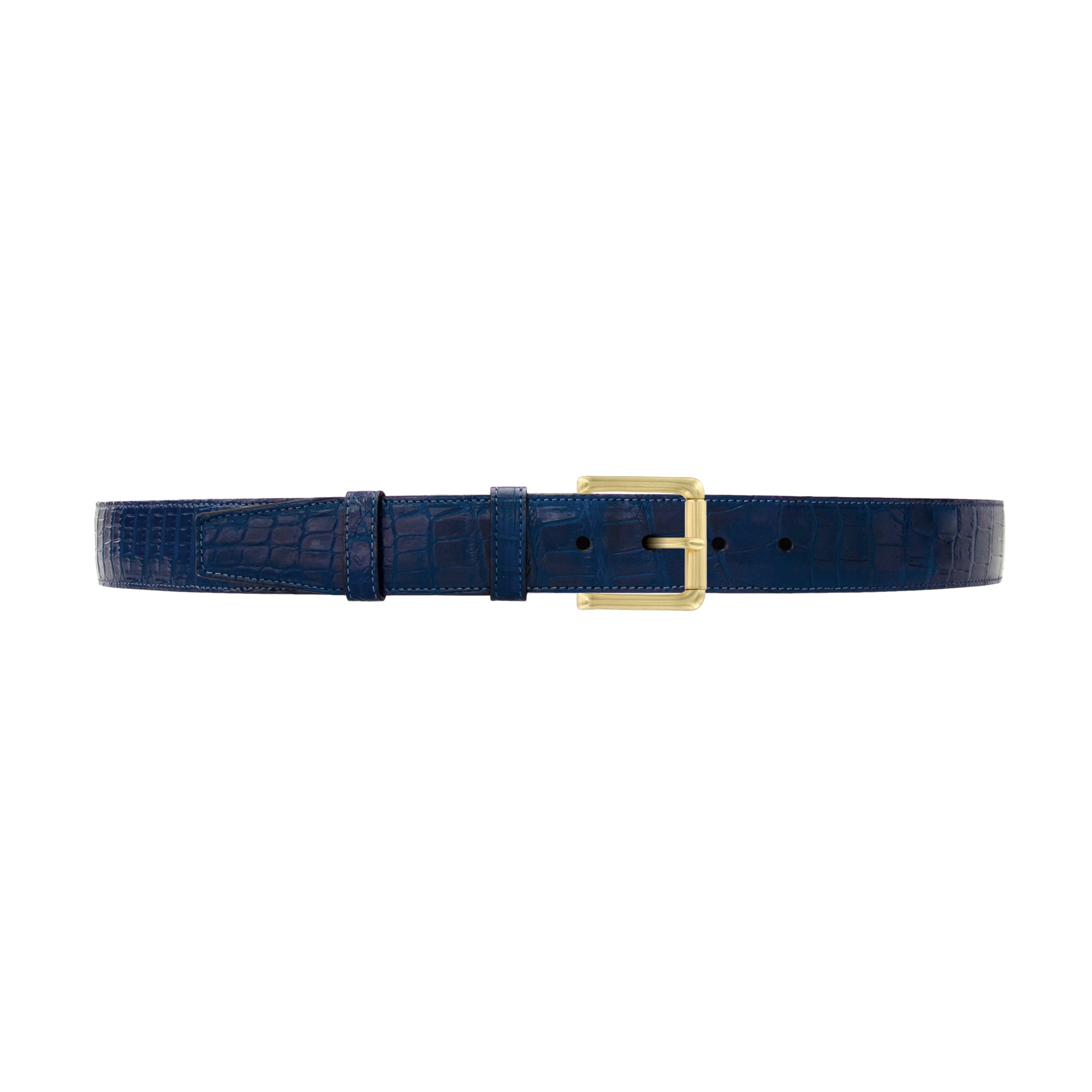 "1 1/2"" Royal Seasonal Belt with Austin Casual Buckle in Brass"