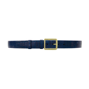 "1 1/2"" Royal Seasonal Belt with Crawford Casual Buckle in Brass"