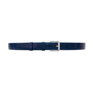 "1 1/4"" Royal Seasonal Belt with Austin Casual Buckle in Polished Nickel"