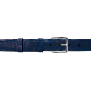 "1 1/4"" Royal Seasonal Belt with Winston Dress Buckle in Polished Nickel"