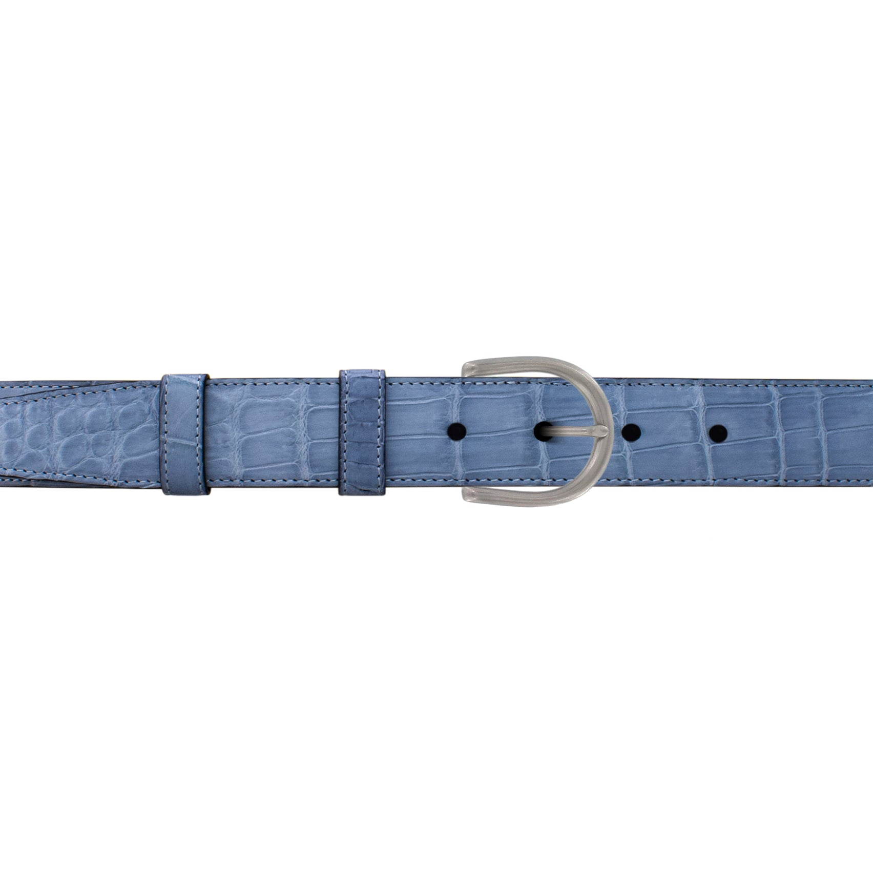 "1"" Arctic Classic Belt with Denver Casual Buckle in Matt Nickel"
