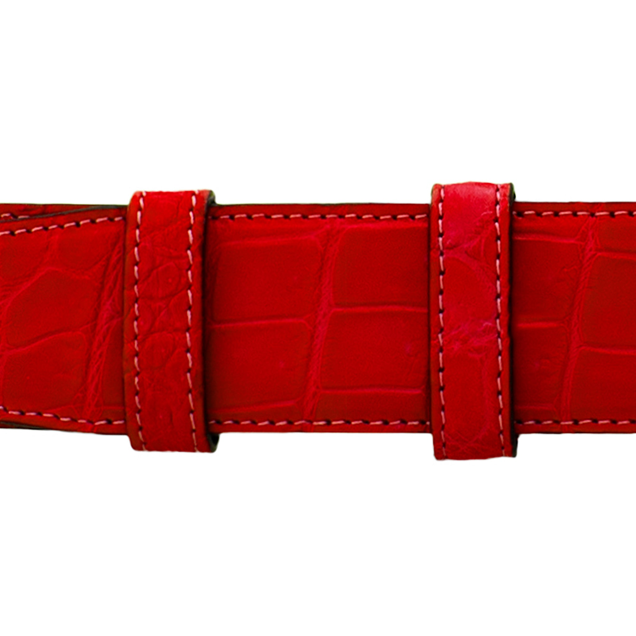 "1 1/2"" Candy Seasonal Belt with Winston Dress Buckle in Matt Nickel"