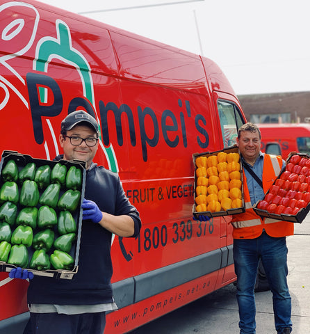Pompei Wholesale Fruit and Veg Delivery
