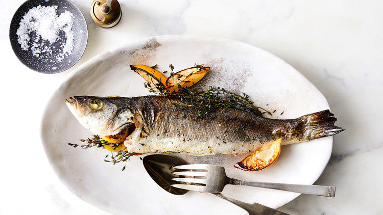 Whole Bronzini-Each fish will be over 1lb