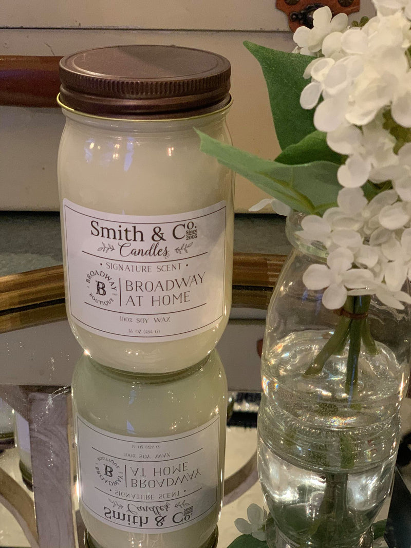 Smith + Co Candle - 16 OZ