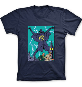 T-SHIRT BLAKE ET MORTIMER MENACE LONDRES