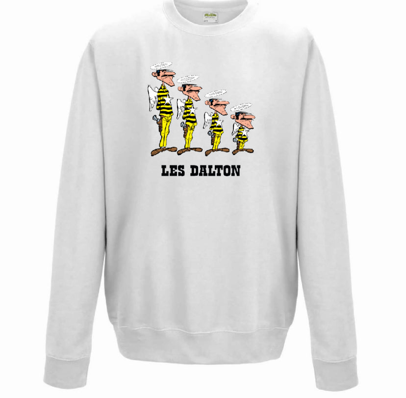 SWEATSHIRT  BLANC LES ANGES DALTON