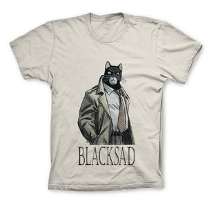T-Shirt JOHN BLACKSAD  SABLE