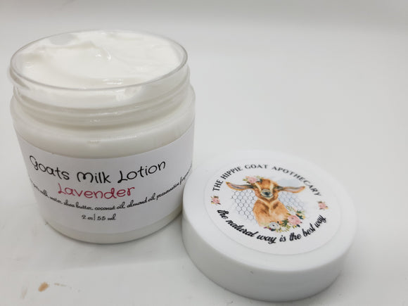 Lavender Goats Milk Lotion