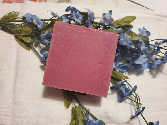 wild Flower  Goats milk Soap