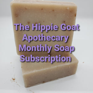 Monthly soap subscription