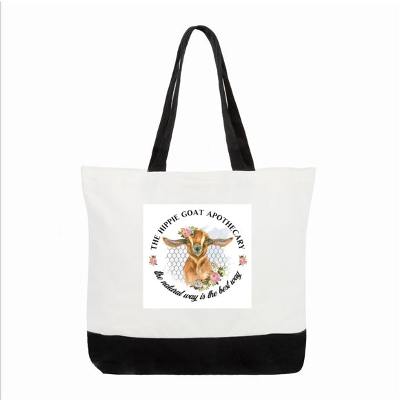 Hippie Goat canvas Bag