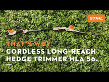 Load and play video in Gallery viewer, STIHL HLA 56 Long-Reach Hedge Trimmer
