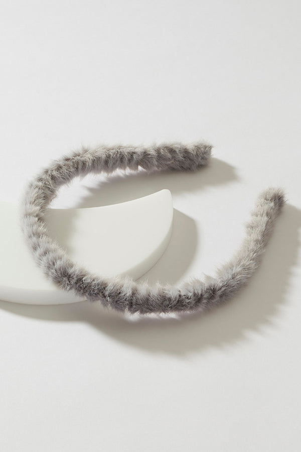 THIN FAUX FUR HEADBAND