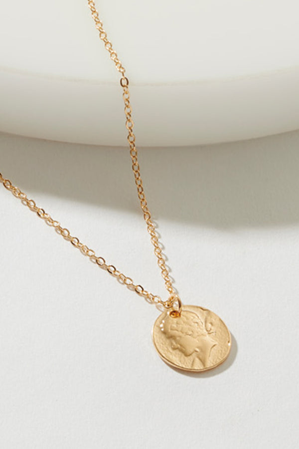 MUSIKER COIN NECKLACE