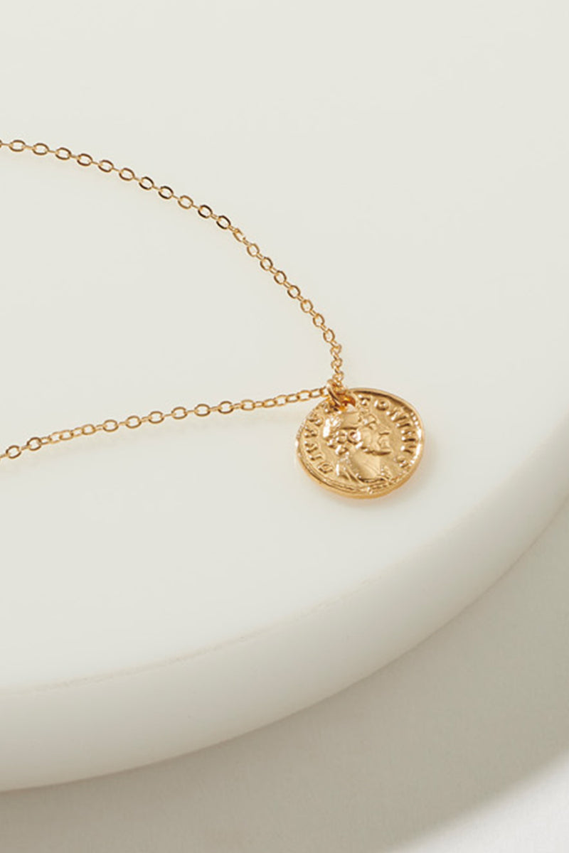 DIVVS COIN NECKLACE