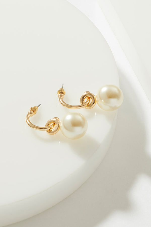PEARL SWING EARRINGS