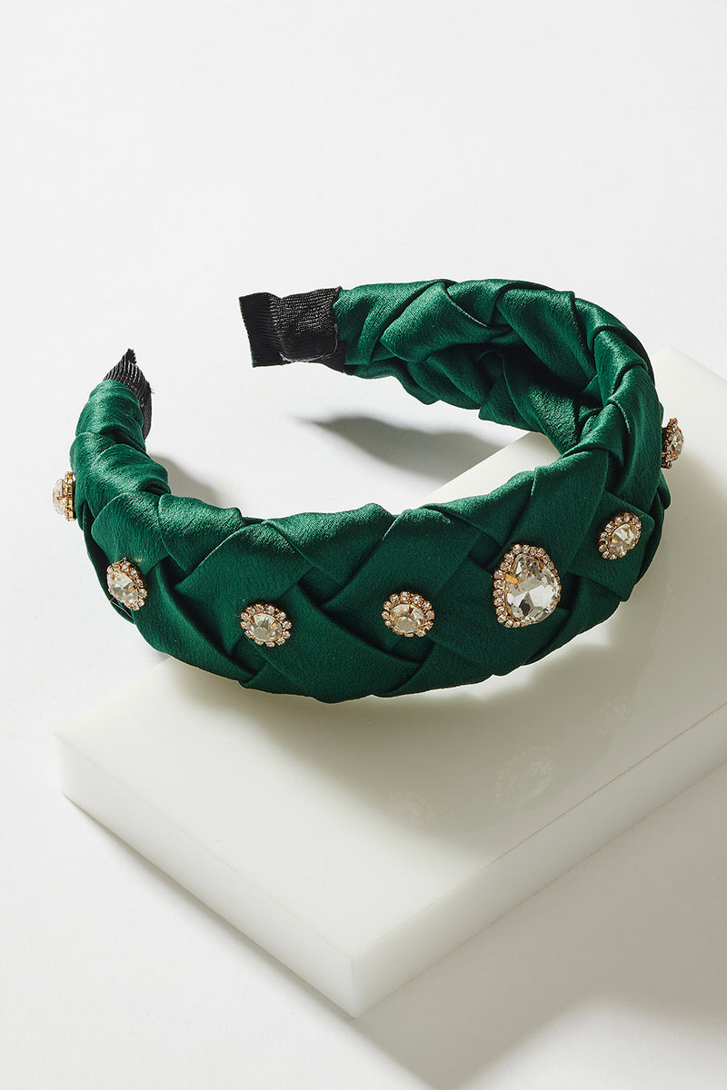 JEWELLED PLAIT HEADBAND
