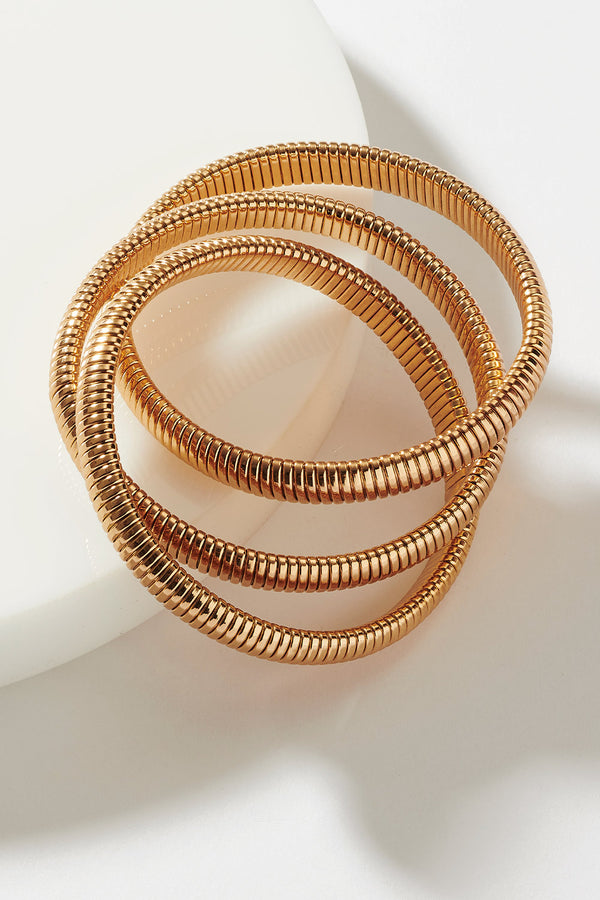 INFINITE GOLD BANGLE