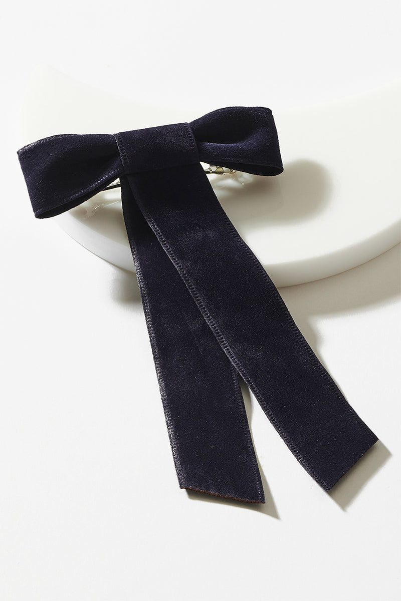 DOUBLE SIDED VELVET BOW