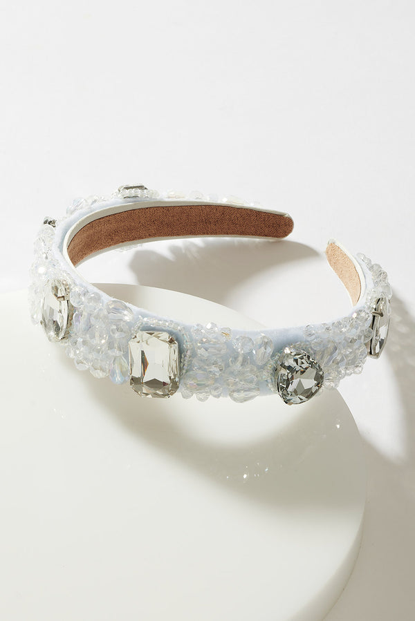 CLUSTER OF GEMS JEWELLED HEADBAND