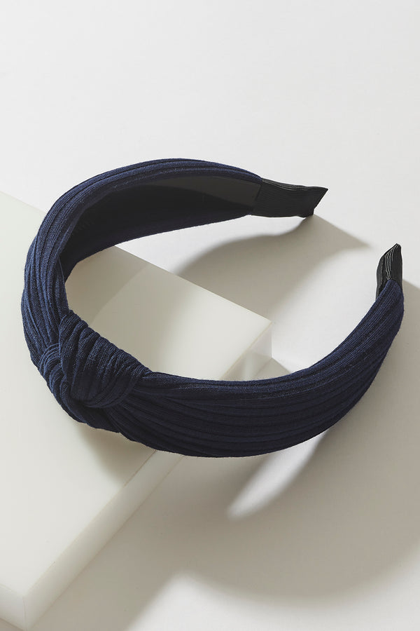 PLEATED KNOT HEADBAND