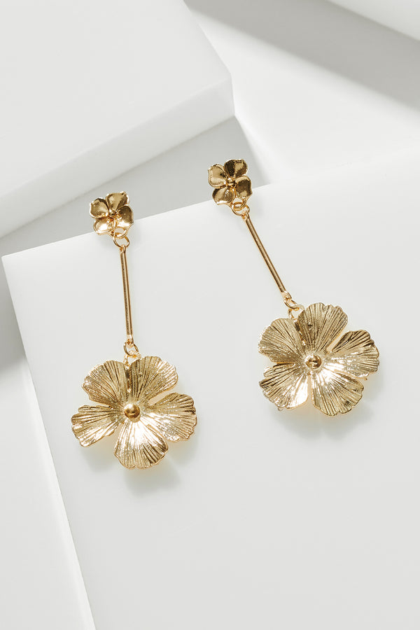 FLOWER BOMB EARRING