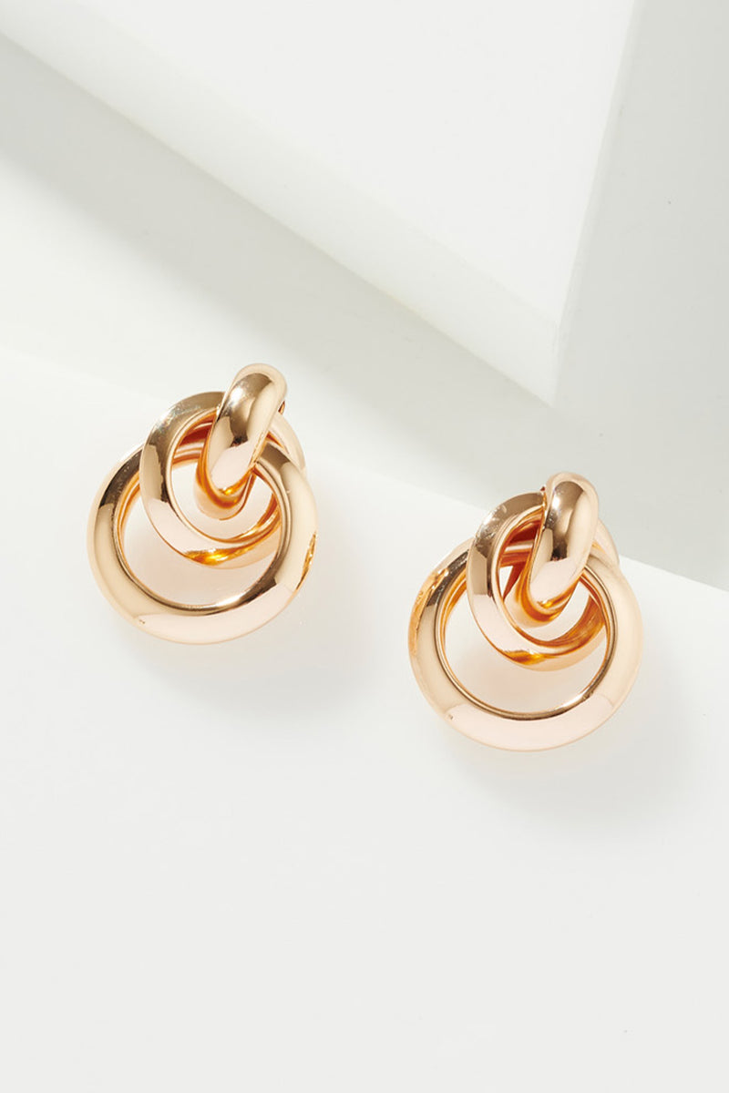 TRIPLE TWIRL EARRINGS