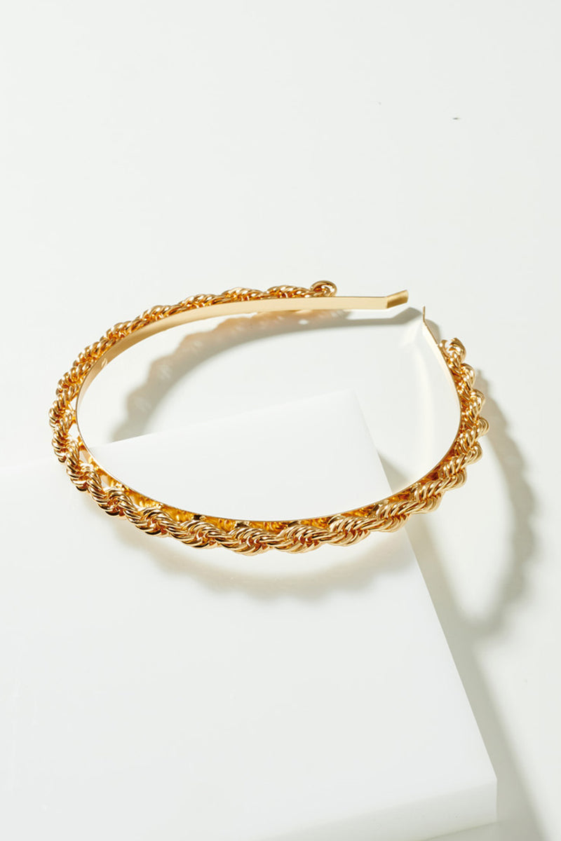 Gold Knot Chain Headband