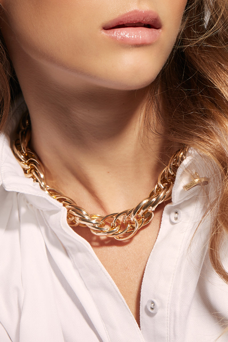 ENSEMBLE GOLD NECKLACE
