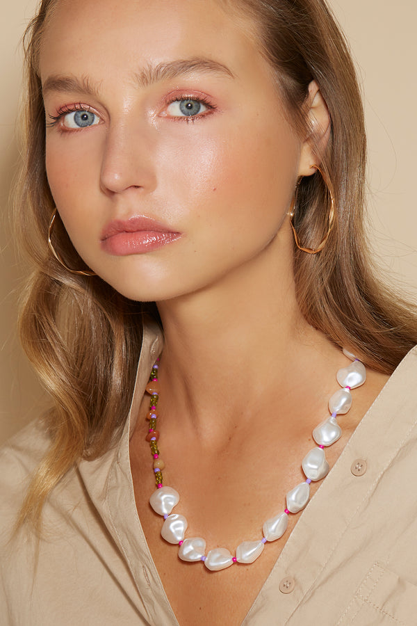 PEARL GARLAND NECKLACE