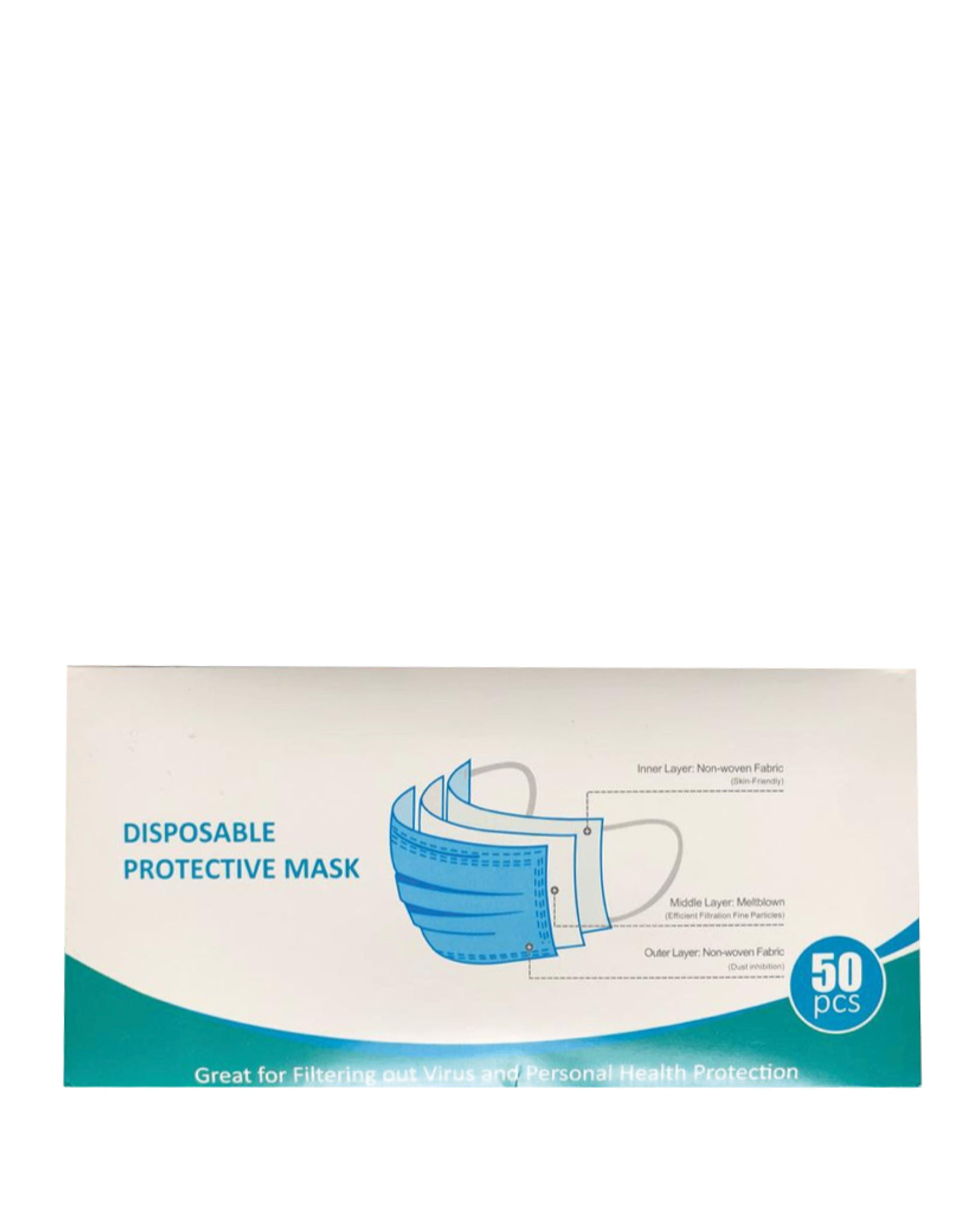 Disposable Face Masks (50pcs)